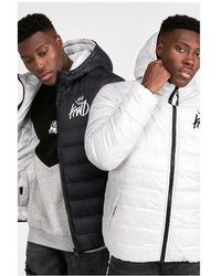 Kings Will Dream - Stretford Reversible Puffer Jacket - Lyst