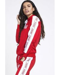 SIKSILK - Women's 90's Panel Poly Hoodie - Lyst