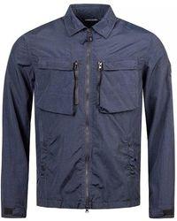 Marshall Artist - Garment Dyed Nylon Overshirt - Lyst