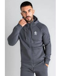 Gym King Core Plus Tracksuit Top - Gray