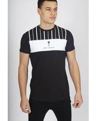 Rose London - Stripe T-shirt - Lyst