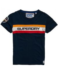 Superdry - Trophy Chest Band Tee - Lyst