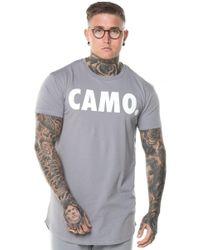 CAMO - Curved Hem T-shirt - Lyst