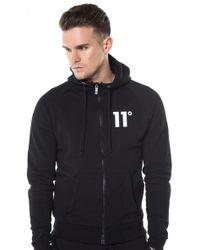11 Degrees - Core Zip Hoody Black - Lyst