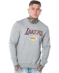 KTZ - Los Angeles Lakers Tip Off Crew Neck - Lyst