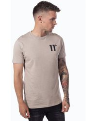 11 Degrees Core T-shirt - Brown