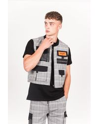 Sixth June - Logo Multiple Pockets Vest - Lyst