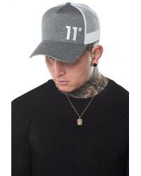 11 Degrees - Trucker Cap - Lyst