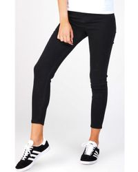 SIKSILK - High Waisted Skinny Jeans - Lyst