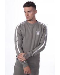 11 Degrees Reflective Sweatshirt - Gray