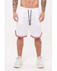 Good For Nothing Nothing Basketball Short - White