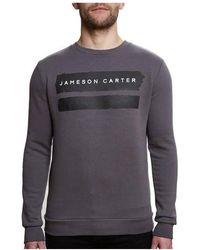 Jameson Carter - Paint Stripe Crew Neck Sweat - Lyst
