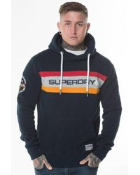 Superdry - Trophy Chest Band Hoodie - Lyst
