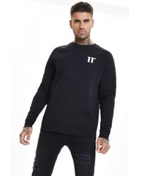 11 Degrees Core Sweatshirt - Black
