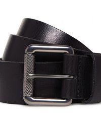 Superdry Badgeman Belt In A Box - Black