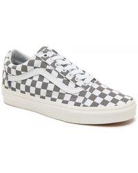 Vans - Old Skool Checkerboard - Lyst