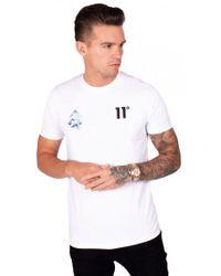 11 Degrees - Mountain Triple Chevron T-shirt - Lyst