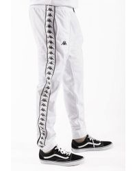 Kappa Rastoria Slim 222 Banda Pants - White