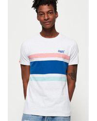Superdry - Orange Label Hardwick Stripe T-shirt - Lyst