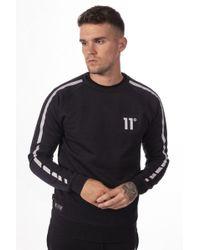 11 Degrees Reflective Sweatshirt - Black