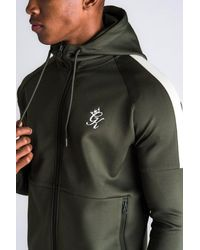 Gym King Core Plus Poly Tracksuit Top - Green
