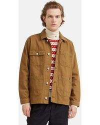 WOOD WOOD Gavin Jacket - Brown
