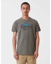 Patagonia Fitz Roy Crest T-shirt - Green