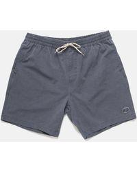Deus Ex Machina - Sandbar Solid Garment Dye Shorts - Lyst