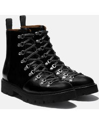 Grenson Brady Colarado Ski Boot - Black