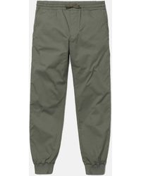 Carhartt Wip Madison Jogger Cuffed Pants - Green