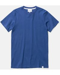 Norse Projects Niels Standard T-shirt - Blue