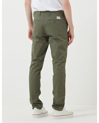 Norse Projects - Aros Slim Light Stretch Dried Olive - Lyst