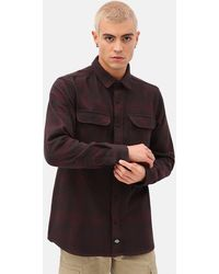 Dickies Plesent Hill Shirt - Red