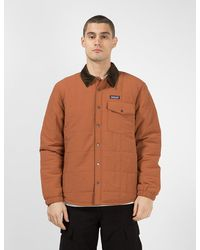 Patagonia Isthmus Quilted Shirt Jacket - Brown