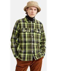 WOOD WOOD - Franco Flannel Shirt - Lyst