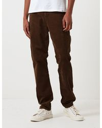 Carhartt Wip Club Pant Trousers (corduroy) - Brown