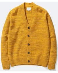 Norse Projects Adam Cardigan Neps - Yellow