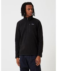 Patagonia Better Jumper 1/4 Zip Fleece - Black