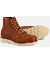 Red Wing Women's 6-inch Moc Boot - Brown