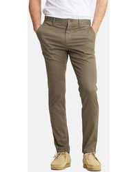 Norse Projects Aros Light Stretch Slim Chino - Green