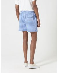 Barbour - Milton Stripe Swim Short - Lyst
