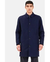 Norse Projects Svalbard Infinium Gore Tex Reversible Jacket - Blue