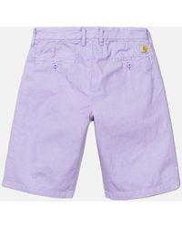 Carhartt Wip John Shorts - Purple