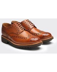 Grenson - Archie Commando Sole Brogue Shoes - Lyst