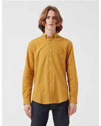 Portuguese Flannel Teca Shirt - Yellow