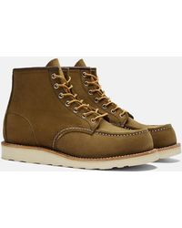 """Red Wing 6"""" Moc Toe Work Boot (8881) - Green"""