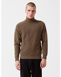 Les Basics Le Roll Neck Sweatshirt - Green