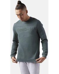 Reebok - Classics Iconic Crew Sweatshirt - Lyst