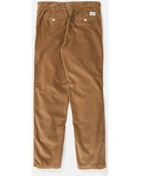 Norse Projects Aros Corduroy Chino - Brown