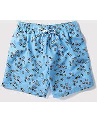 Boardies Inflatiballs Swim Shorts (mid-length) - Blue